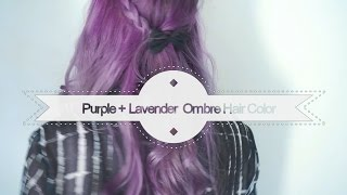 Purple + Lavender Ombre Hair | Arctic Fox Color (ENG/SPA) | Asami