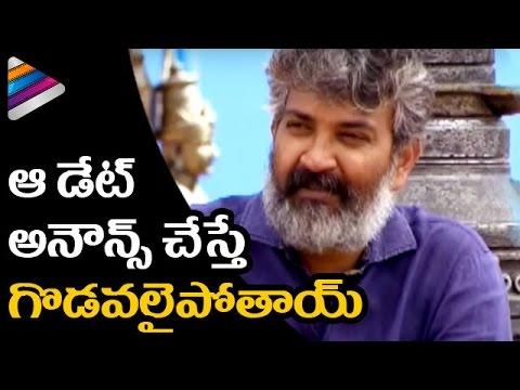 SS Rajamouli Comments on Baahubali 2 Trailer Release Date | Baahubali 2 Interview | Telugu Filmnagar thumbnail