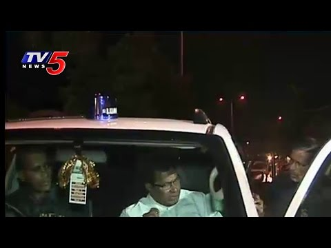 Jana Reddy Fire On Police Due To Drunk And Drive Test | TV5 News