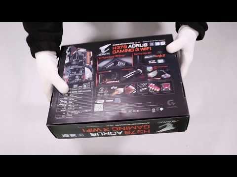 Unboxing Mainboard Gigabyte H370 AORUS GAMING 3 WIFI hands on review