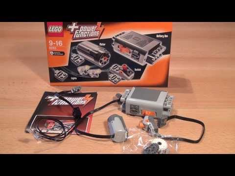 Test Lego Power Functions Tuning-Set: Lego Technic (Set 8293)