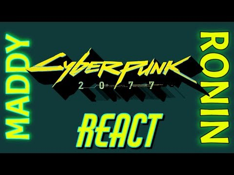 Download Maddy and Ronin React: Cyberpunk 2077 Trailer Mp4 baru