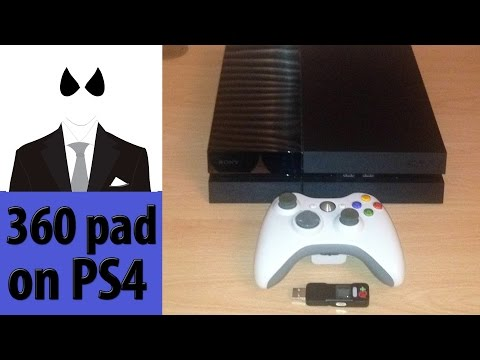 How to use an Xbox 360 controller on PlayStation 4 - with CronoMax Plus. Setup Guide & Review