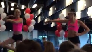 "The Dance Moms Girls Performing To ""Girl Party"""