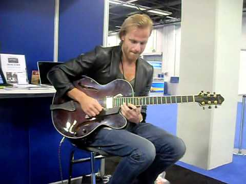 Andreas Oberg at NAMM - Jan 14, 2011 in Anaheim, CA - another clip