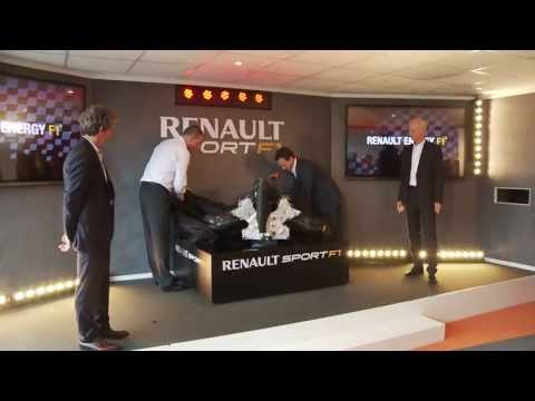 F1 2013 - Renault Sport F1 - New V6 turbo launch at Paris Le Bourget