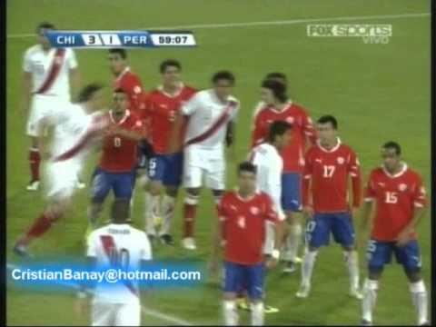 Chile 4 Peru 2 Eliminatorias Sudamericanas Brasil 2014 Los goles