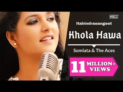 Somlata & The Aces   Khola Hawa   Rabindra Sangeet   Somlata Acharyya Chowdhury