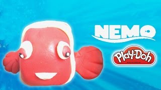 PlayDoh Nemo How To make Disney Finding Nemo with Play Doh