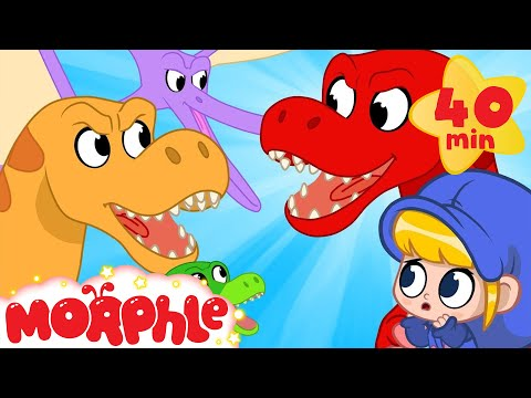 Morphle the dinosaur goes back in time! MP3
