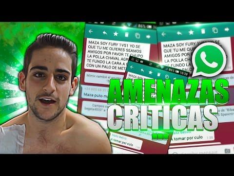 Amenazas, insultos, críticas por whatsapp!
