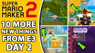 10 MORE New Features in E3 Day 2 For Super Mario Maker 2