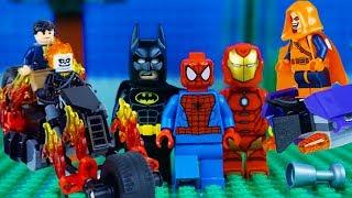 LEGO Super Heroes STOP MOTION LEGO Marvel vs DC COMPILATION | LEGO Superhereos | By Billy Bricks