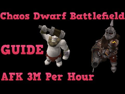 Chaos Dwarf Battlefield Guide – 3M per hour AFK Money Making [Runescape 2014] EOC