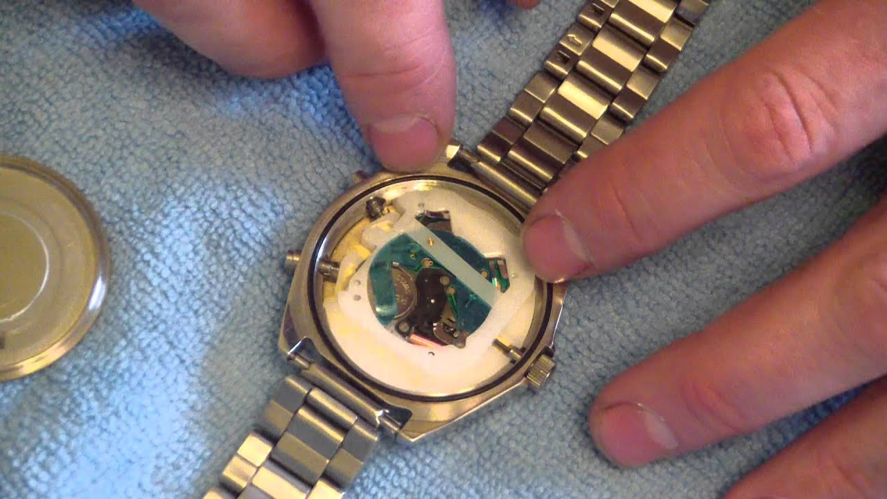 How to change a watch battery youtube for Watches battery