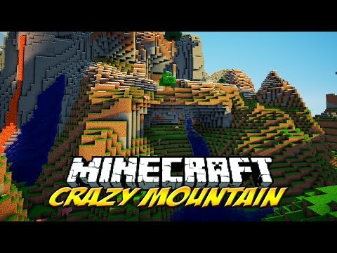 Minecraft: CRAZY MOUNTAIN [1.7.10 seed]