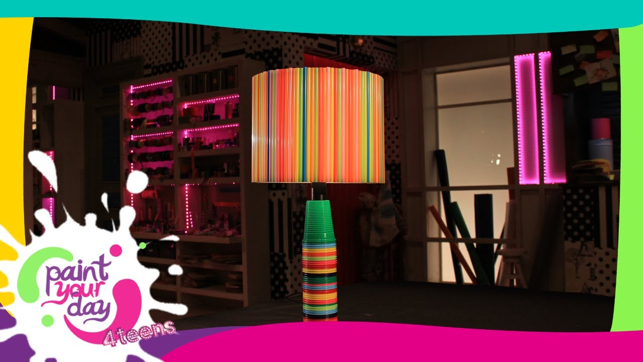 Come fare una lampada per i party: Paint Your Day 4 Teens - Frisbee ...