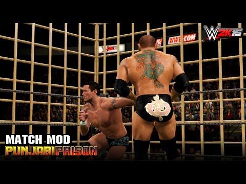 WWE 2K15 PC Mods - Punjabi Prison Match - Custom Match type
