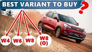 Mahindra XUV 300 : Best variant to buy ? | Variants explained | xuv 300 w4 w6 w8 w8 (o) | ASY