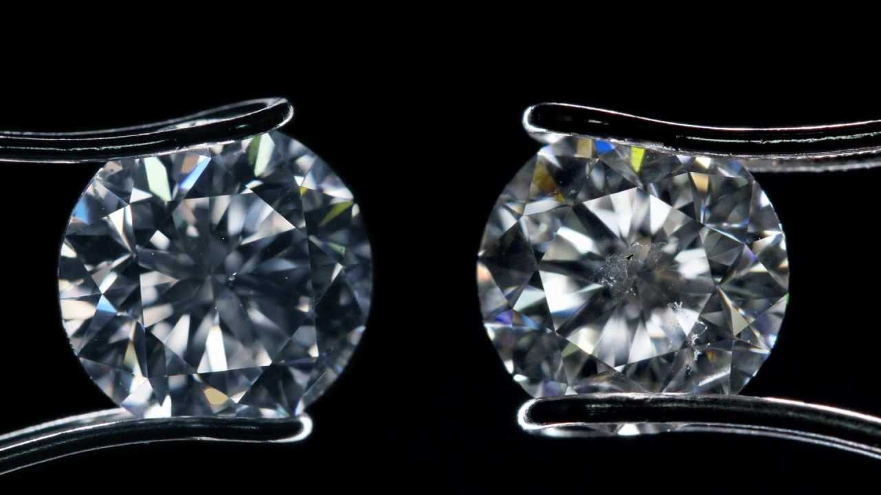 Comparisons of Diamond Clarity Grades - YouTube