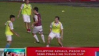 NTVL: PHL Azkals, pasok sa semi-finals ng Suzuki Cup