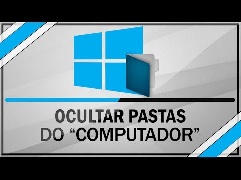Windows 8.1 - Como ocultar as bibliotecas da pasta