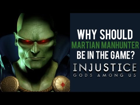 Injustice Gods Among Us: Martian Manhunter
