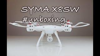 Syma X8SW - Unboxing a představení dronu Syma X8SW