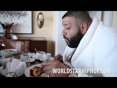 DJ Khaled eating eggwhites