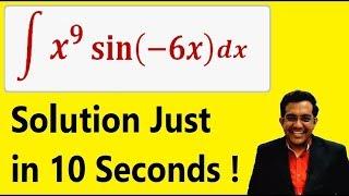 INTEGRATION Shortcut Method - Calculus Tricks : Trick to calculate Integration