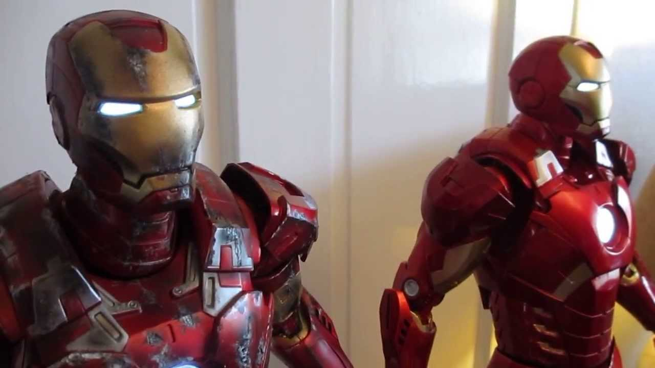"Iron Man Mark 7 Hot Toys Neca Avenger 18"" ..."