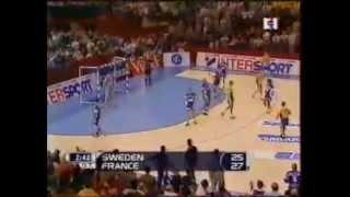 Mondial 2001 finale (fin match) - France 28-25 Suède [2001-02-04]