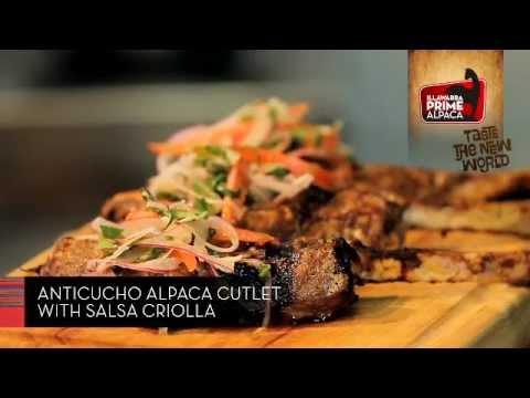 Anticucho Alpaca Cutlet Recipe