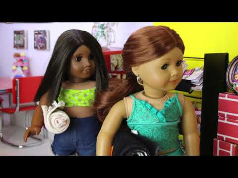 The New Friend Ordeal (American Girl Doll Stopmotion)