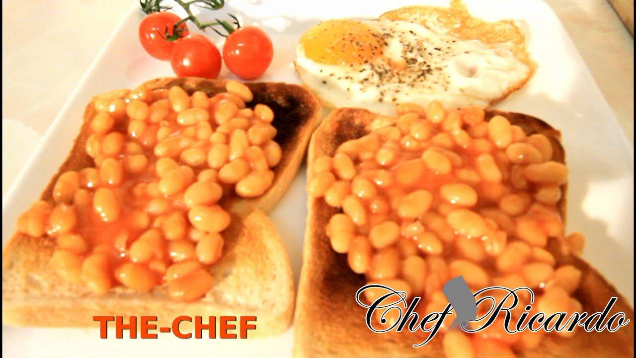 Beans Toast Egg Cheery