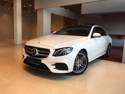 Mercedes-Benz E-Class 2017 Обзор.AvtomanLive.