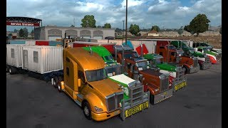 ahora con palanca a ver como me va :D american truck simulator multiplayer