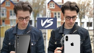 Huawei P20 Pro Camera VS iPhone X - Showdown!