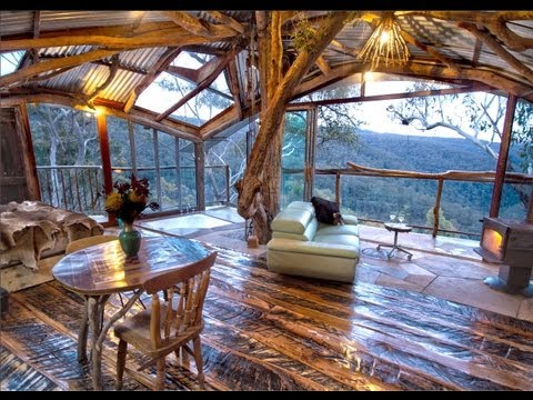 The World s Best Treehouse (with a spa!) - Blue Mountains - Bilpin - NSW - Australia