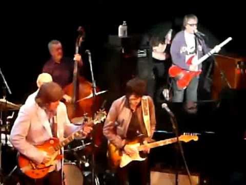 Bill Wyman Charlie Watts Mick Taylor Ronnie Wood BOOGIE FOR STU London 09/03/11