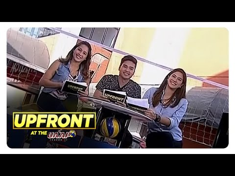 UAAP Upfront: UAAP Volleyball Former Star and Rising Star