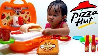 PIZZA Toys Playset  💖 Mainan Masak Masakan Membuat PIZZA 💖 Let's Play Jenica 💖
