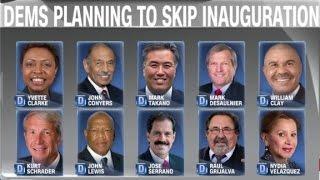 16 House Democrats to skip inauguration