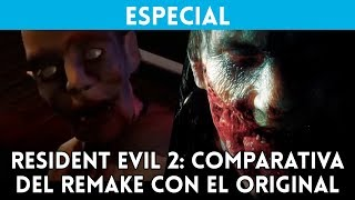 COMPARATIVA GRÁFICA: Resident Evil 2 (PSX) vs Resident Evil 2 Remake (PS4 Pro)