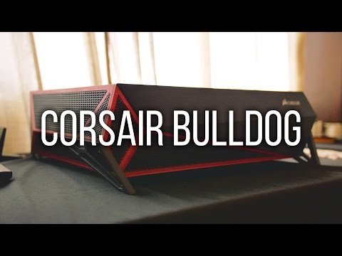 Corsair Bulldog - $399 DIY Liquid Cooled 4K Living Room PC