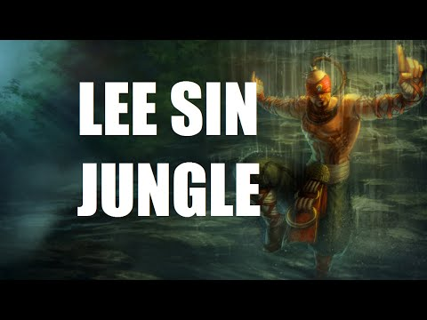 League of Legends Lee Sindrome Jungle Full Game Commentary