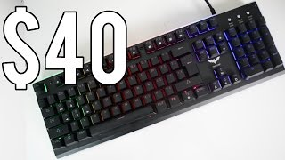 Is this $40 Gaming Keyboard LEGIT? - HAVIT 380L Review