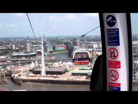 'New' Emirates Cable Car Service' (from Royal Greenwich).