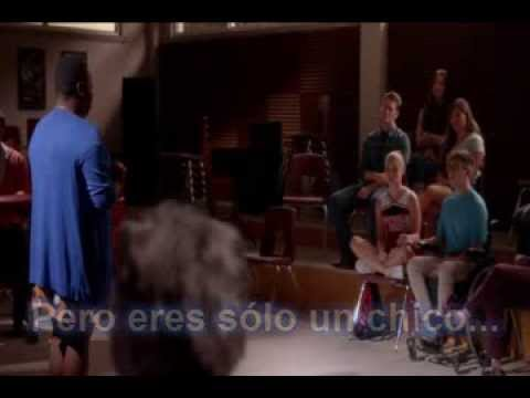 "Glee ""If I were a boy"" traducido al español"