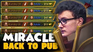 Miracle- Invoker GOD - Miracle- Destroyed PUB After TI8 - WHAT A GAME - Dota 2 Invoker